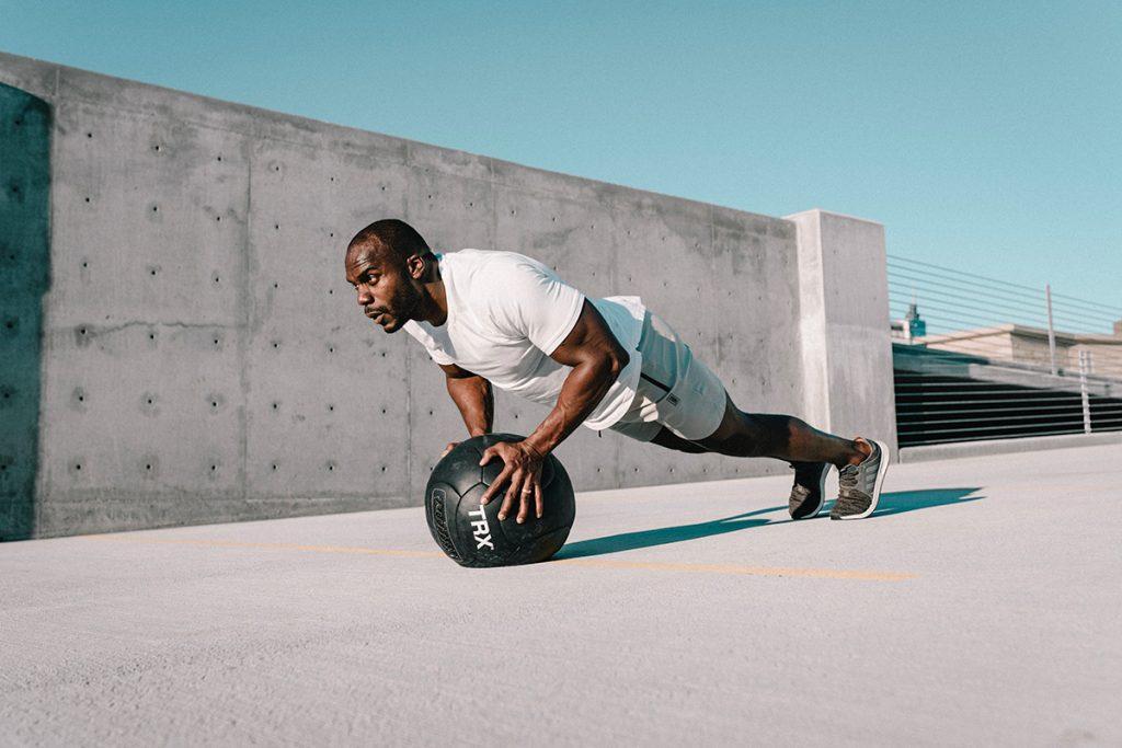 Renforcement musculaire : pompes expert
