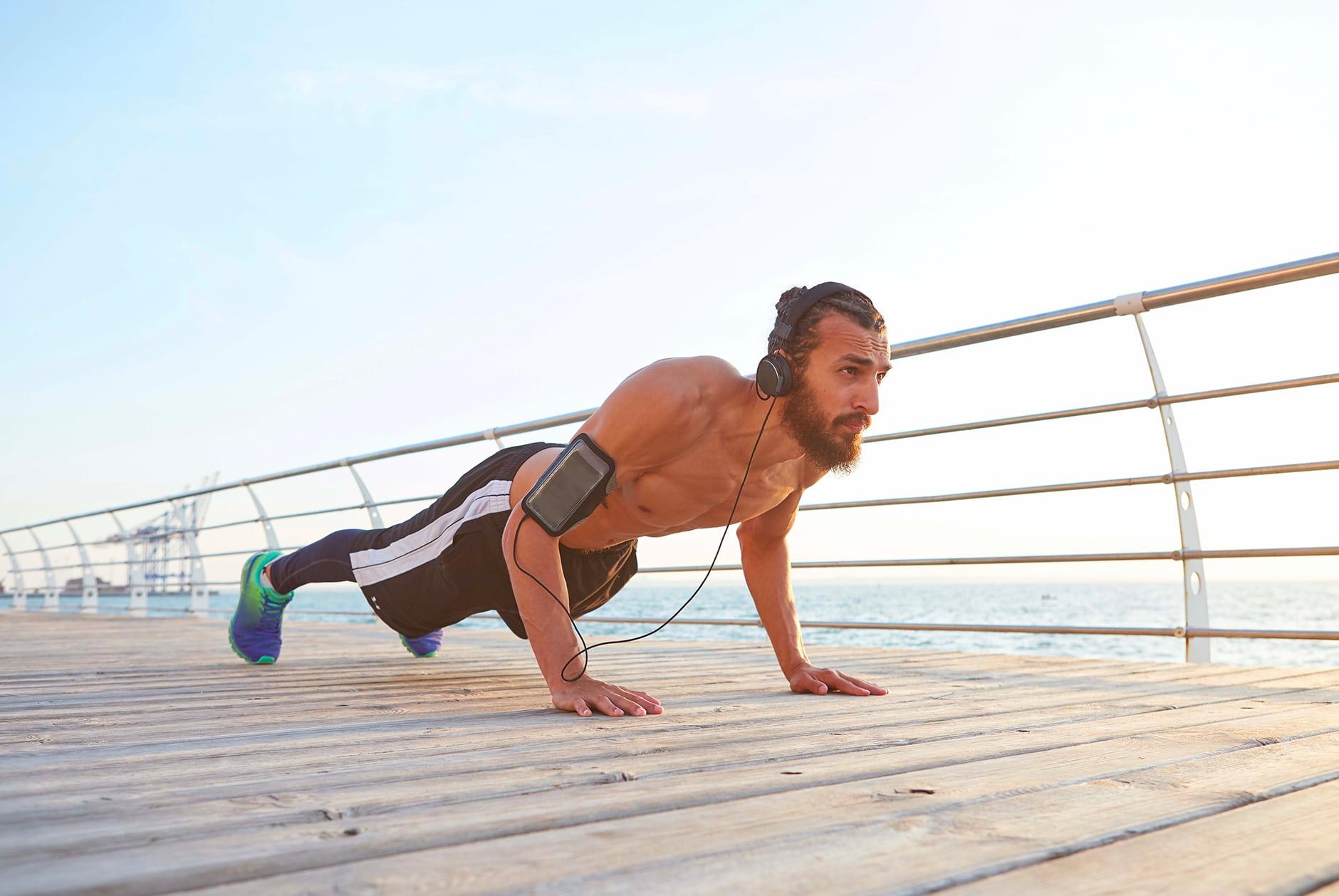 Renforcement musculaire : comment devenir le roi des pompes ?