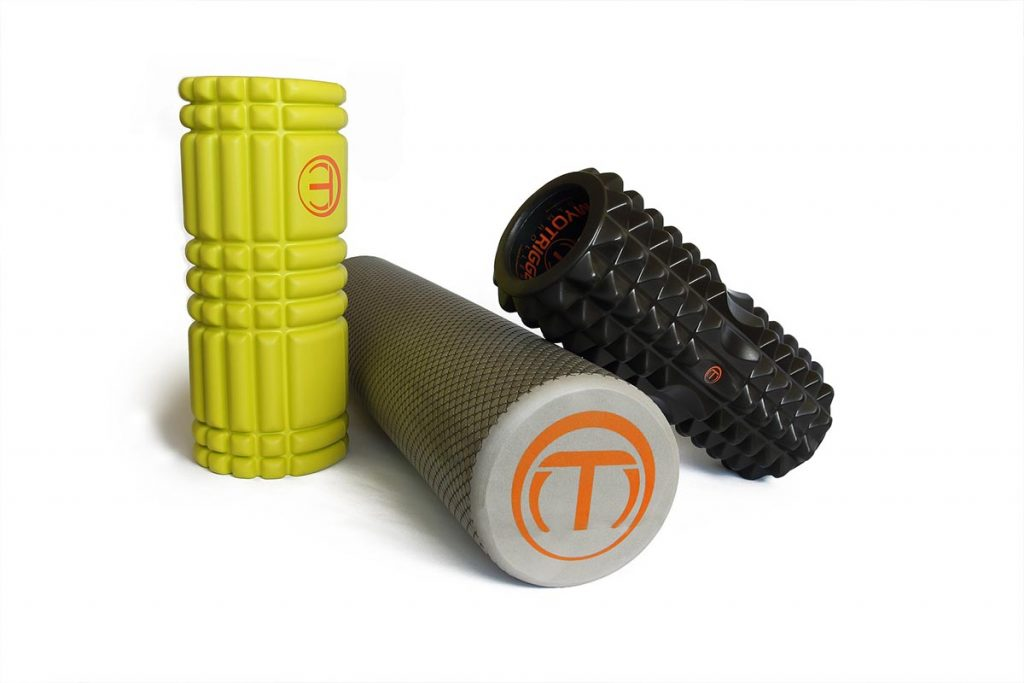 Foam roller : différents types existent